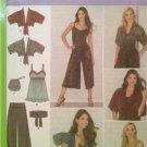 Simplicity Sewing Pattern 3914 Misses Ladies Tunic Top Belt Bag Size 6-14 Uncut