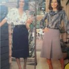 Knitwit Sewing Pattern 4500 Ladies Misses Straight Skirt Size 6-22 Uncut