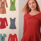 Simplicity Sewing Pattern 1539 Misses Tunic Top Size 14-22 Water Damaged Uncut