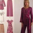 Simplicity Sewing Pattern 2371 Misses Dress Pants Tunic Size 10-18 Uncut