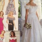 Sewing Pattern No 8865 Simplicity Brides and Bridesmaid Dresses Size 6-10