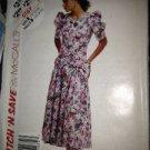 Sewing Pattern No 5167 McCalls Ladies Dress Size 12-16