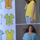 Simplicity Sewing Pattern 1660 Ladies Misses Loose Fitting Top Size XXS-XXL UC