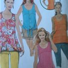 Simplicity Sewing Pattern 1614 Misses Ladies Top Back Details Size 12-20 UC