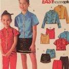 McCalls Sewing Pattern 4504 Girls Childs Shirts Top Skirt Pants Size 3-6 Uncut