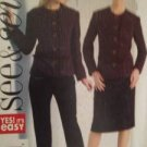 Sewing Pattern No 4639 See & Sew Ladies Jacket Skirt & Pants 16-22