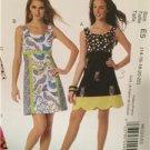 McCalls Sewing Pattern 6322 Ladies Misses Dress Size 8-14 Uncut