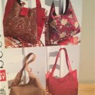 See Sew Sewing Pattern 4271 Two Lined Handbags Fashion Accesories Uncut