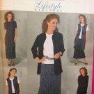 Butterick Sewing Pattern 4142 Ladies / Misses Jacket Vest Skirt Size 14-18 UC