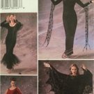 Butterick Sewing Pattern 3554 Misses Dresses Cape Vampire Costume Size 12-16 UC