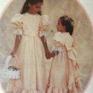 Sewing Pattern No 4656 McCalls Girls Dress and Sash Size 14