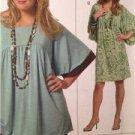 Butterick Sewing Pattern 5040 Misses Tunic Dress Size XS-MD Uncut