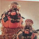 McCalls Sewing Pattern 8329 Halloween Scarecrow Pumpkin Uncut Homespun Harvest