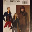 Butterick Sewing Pattern 5422 Ladies / Misses Jackets Size 16-22 Uncut