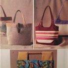 Butterick Sewing Pattern 3799 Three Handbags Uncut Fashion Accessories