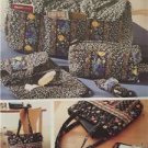 Simplicity Sewing Pattern 5025 Bags Accessories Toiletry Duffle Shoes Uncut