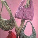 McCalls Sewing Pattern 5486 Four Lined Hobo Bags Uncut Fashion Accessories