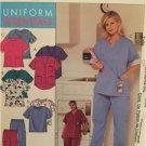 McCalls Sewing Pattern 3871 Ladies Misses Tops Pants Size 26w-32w Uncut