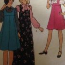 Styles Sewing Pattern No 1255 Girls Pinafore Dresses or Blouse Size10