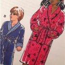 Kwik Sew Sewing Pattern 2654 Children Boys Girls Robes Size XS-XL