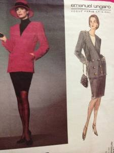 Vogue Sewing Pattern 1223 Ladies / Misses Jacket & Skirt Size 10 Uncut