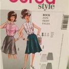 Burda Sewing Pattern 7042 Ladies Misses Skirt Size 10-22 Uncut