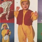 Simplicity Sewing Pattern 7374 Toddlers Tiger Pig Pooh Costumes Size 1/2-4 UC