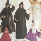 McCalls Sewing Pattern 7838 Adults Witch Wizard Angel Phantom Costumes Size 8-22
