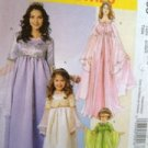 McCalls Sewing Pattern 5906 Misses Ladies Princess Costumes Size S-XL Uncut