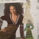 McCalls Sewing Pattern 5230 Ladies Misses Dress Size 6-12 Uncut