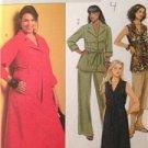 Butterick Sewing Pattern 5194 Misses Top Shorts Pants Dress Pants Size 18W-24W