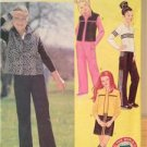 Butterick Sewing Pattern 3065 Girls Childs Teens Vest Top Skirt Pants Size 7-10