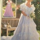 Simplicity Sewing Pattern 7258 Lined Brides and Bridesmaid Dresses Size 6