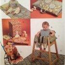 McCalls Sewing Pattern 5604 Baby Infants Items Nap Mat Diaper Stacker Uncut