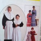 McCalls Sewing Pattern 2337 Misses Girls Colonial Pioneer Costume Size 12-14 UC