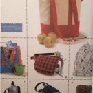 Simplicity Sewing Pattern 9658 Utility Bag Packaging Uncut Fashion Accessories