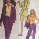 McCalls Sewing Pattern 4786 Misses Jacket Shirt Shorts Pants  Size 6-12 Uncut