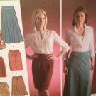 Simplicity Sewing Pattern 4087 Misses Skirts Size 4-12 Uncut Water Damaged