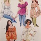 McCalls Sewing Pattern 5050 Ladies Misses Tops Tunic Size XS-MD Uncut