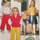 Butterick Sewing Pattern 6590 Girls Cabbage Patch Kids Pants Tops Size 3 Uncut