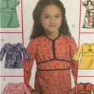 McCalls Sewing Pattern 5456 Girls Childrens Tops Size 6-8 Uncut