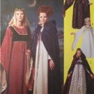 McCalls Sewing Pattern 8937 Girls Childs Medieval Costumes Size 7-8 Uncut