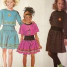 Sewing Pattern No 9932 Simplicity Girls Dresses Size 7-14