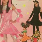 McCalls Sewing Pattern 4950 Girls Childs Funky Dress Leg Warmers Size 12-16 UC