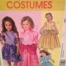 McCalls Sewing Pattern 5265 Girls Childrens Princess Costumes Size 6-8 Uncut