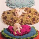 "McCalls Sewing Pattern 5410 Pet Dog Beds Size - 26 36 46"" Uncut No-Sew"
