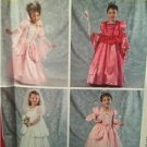 McCalls Sewing Pattern 6897 Girls Childs Princess Bridal Costumes Size 2-5 Uncut