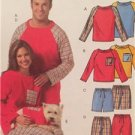 McCalls Sewing Pattern 5282 Mens Teens Misses Top Shorts Pants Size XS-MD UC