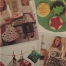 Simplicity Sewing Pattern 2492 Misses Girls Aprons Felt Food Kitchen Accessories
