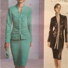Vogue Sewing Pattern 2790 Ladies Misses Jacket Skirt Size 18-22 Uncut Couture
